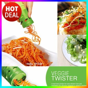 Veggie Twister - Alat Pembuat Garnish Spiral