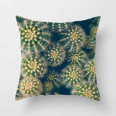 Vintage Flower Tropical Leaves Pillow Case Cushion Cover Home Decor #6 - intl