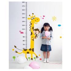 Wall Stiker Tinggi badan anak