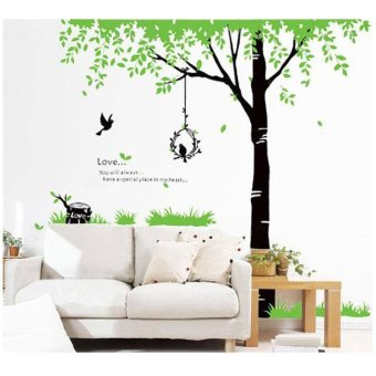 wallsticker stiker dinding lm719 120 x 180 multicolor