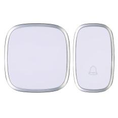 Waterproof 120m Wireless Door Bell 36 Melody Home Smart Alarm White