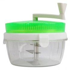 Whiz Twisting Vegetable Chopper Green - Alat Pengiris Sayuran - Hijau