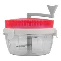 Whiz Twisting Vegetable Chopper - Pink (Alat Pengiris Sayuran - Pink)