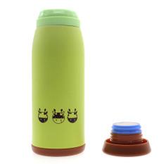 Whyus 500ml Stainless Steel Cute Cartoon Animal Thermos Travel Mug Vacuum Cup Bottle (Deer)