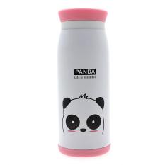 Whyus 500ml Stainless Steel Cute Cartoon Animal Thermos Travel Mug Vacuum Cup Bottle (Panda)
