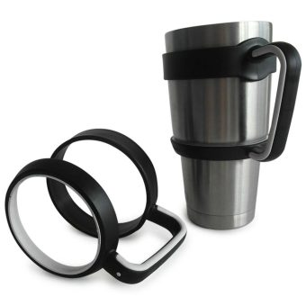 Whyus Antislip Cup Handle For 30 Oz YETI Rambler Tumbler Rtic Sic Cup Travel Drinkware - Intl