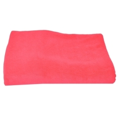 Whyus Hot Sale New Luxury Soft Microfiber Bath Camping Towel (Rose Red)