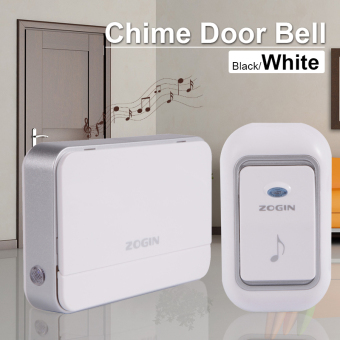 Wireless Chime Door Bell Doorbell Remote Control 16 Tune Song Home White AH218