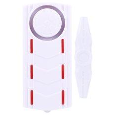 Wireless Light & Sound Vibration Magnetic Sensor Remote Door Window Detector Security Home Alarm - Intl - Intl