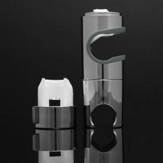 XIYOYO Replacement 25Mm Abs Chrome Shower Rail Head Slider Holder Adjustable Bracket - Intl