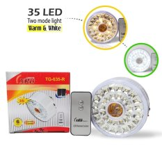 XRB Lampu Emergency Fitting TG-635-R - 35 LED - Light Warm & Putih