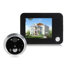 YB 35HD LCD Screen Digital Door Viewer with Camera (Black)