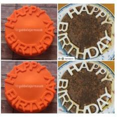 ... YBS Cetakan Puding Kue Silikon HAPPY BIRTHDAY