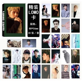 EXO For Life SEHUN Album LOMO Cards New Fashion Self Made Paper Photo Card HD Photocard