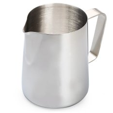 350ml Stainless Steel Coffee Milk Pitcher Frothing Cup - SILVER (Intl)