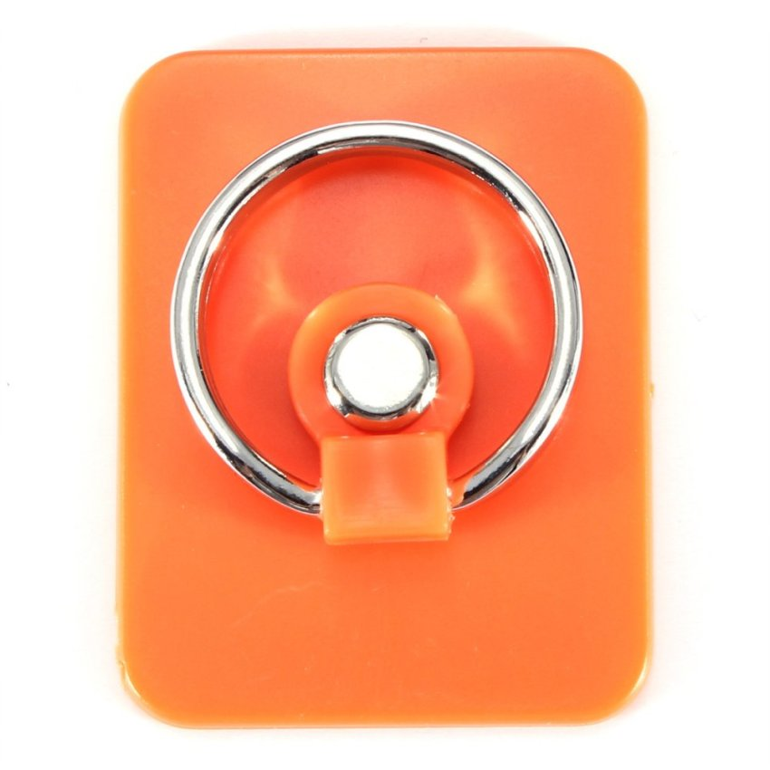 360 Degree Rotation 3D Ring Stand Mount Holder for Mobile Phone PDA Orange (Intl)