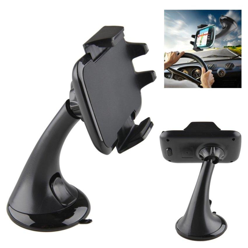 360 Mount Adjustable Suction Cup Mini Universal Cellphone Smart Phone Car Holder (Black) (Intl)