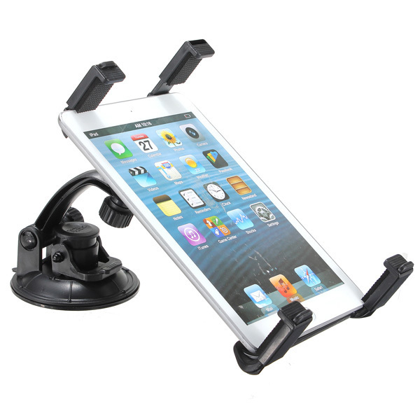 360°Car Windshield Mount Holder Stand For iPad Air 5 4 3 Mini 2 1 Tablet 7-10
