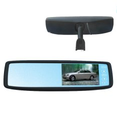 4.3 Inch Bluetooth Rear View Mirror Car Monitor - Intl