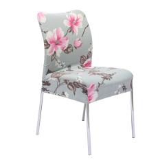 4 Style Stretch Soft Stool Seat Chair Cover Removable Room Hotel Protector Decor style 1 - Intl