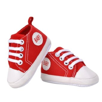 1 Pair Baby Boy Girl Sprts Shoes First Walkers Kids ChildrenShoes(Red) - intl