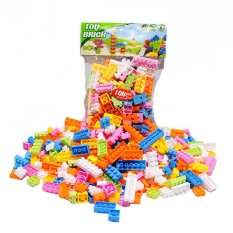 144pcs Plastic Building Blocks Bricks Children Kids Educational Puzzle Toy - intl