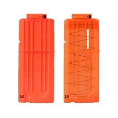 2Pcs Bullet Clips Cartridge Holder Clip Hold for Foam Nerf Darts N-Strike Fun Gift - intl