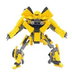 360DSC Children Kids Educational Blocks Toys Deformation Series DIY Block Toy Set - Bumblebee - intl