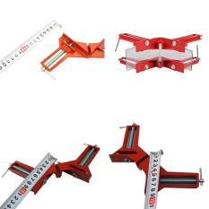 90 Degree Right Angle Clip Picture Frame Corner Clamp Hand Tool Kit - intl