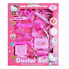 AA Toys HK Doctor Set 8622-6 Pink - Mainan Peralatanlat Medis