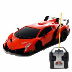 AA Toys Powerful Top Speed Model Car Racing Orange 1:24 RC - Mainan Mobil Remote Control BO