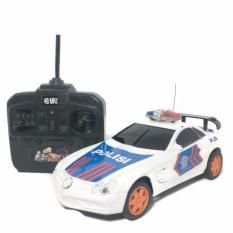 AHS RC Mobil Patroli Polisi Indonesia - Putih