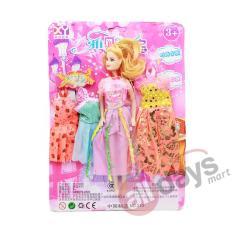 Alldaymart Mainan Boneka Anak Barb Sweet Mini 1604-335 + Sepatu Barb 1604-331 - (Random Motif)