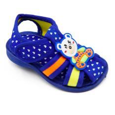 Alldaysmart Sepatu Sandal Anak Bayi 1607-103 Bunyi Decit Empuk - Blue 15/20