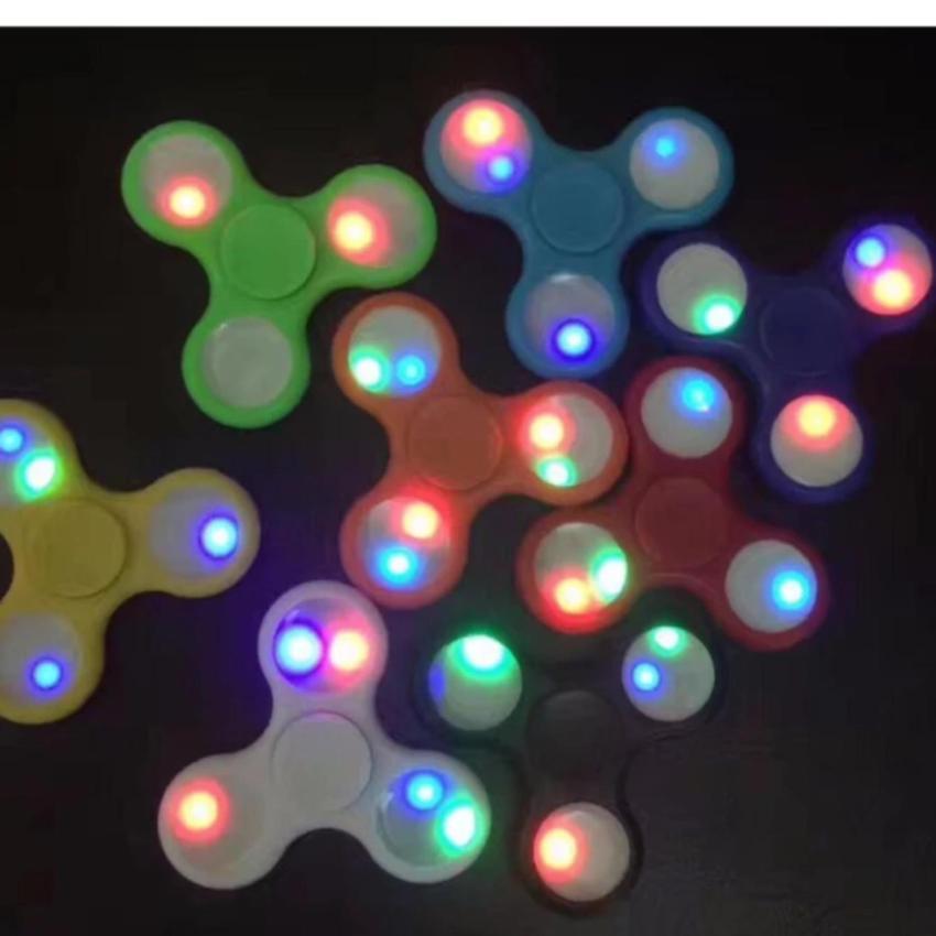 Focus Games Source Fidget Spinner Led Hand Toys Mainan Tri Spinner Edc Ceramic .