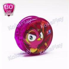 Auldey Blazing Teens Standard Edition Mainan Yoyo Legendary Warriors Fire Phoenix - Pink