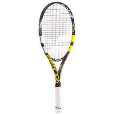 Babolat Raket Tenis Aero Pro Drive 26 Junior Strung Grip 0 Black/White/Yellow
