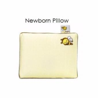 BABY BEE NEWBORN PILLOW WITH CASE/ BANTAL BAYI LATEX