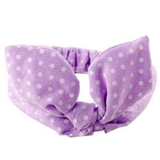 Baby Headband Bow Elastic Purple Litttle - intl