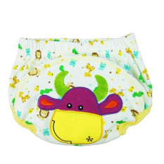 Baby Infant Printed Cloth Diapers Reusable Nappy Washable Snap Nappy
