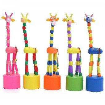 BolehDeals 6pcs Wooden Montessori Sensorial Auditory TrainingMaterial Sound Cylinders - intl. Source · Baby Kids