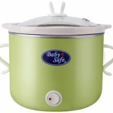 Baby Safe - Slow Cooker Tombol On Off 0.8 Liter / Pembuat Bubur Bayi