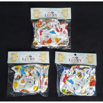 ... Motif 3 Pcs Review Produk Source · Baby Wang Sarung tangan dan kaki Merk Libby