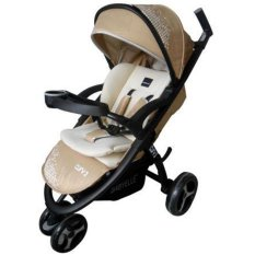 Babyelle Stroller Curv 2 S-700 - Baby Elle Curv 2 - Kereta Dorong Bayi - Beige