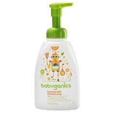 BabyGanics Dish and Bottle Soap Citrus - 473ml