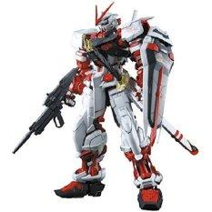 Bandai Gundam Astray Red Frame RG Skala 1/144 Model Kits Original Mainan Action Figure Japan Koleksi Unik Hiasan Toys Collectibles Hobby Merakit Perakitan dapat Diatur Berbagai Pose Keren Robot - Multicolor