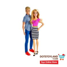 Barbie And Ken Doll 2 Pack