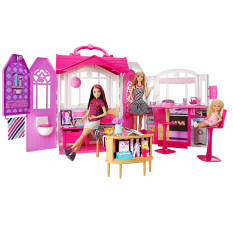Barbie® Glam Getaway® House & doll