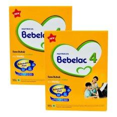 Bebelac 4 Bebenutri Plus Susu Pertumbuhan - Vanila - 1800 gr - Bundle isi 2 Box