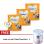 Bebelac 4 Bebenutri Plus Susu Pertumbuhan - Vanila 800 gr - Bundle3 Kaleng + FREE Lock n Lock Twist Food Jar 1 L